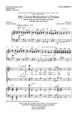 My Great Redeemer's Praise Sheet Music