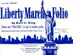 Liberty March Folio 2nd Bb Cornet book Sheet Music