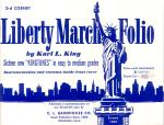 Liberty March Folio 3rd Bb Cornet book Sheet Music