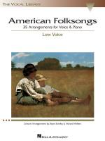 American Folksongs The Vocal Library Low Voice Sheet Music