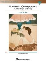 Women Composers - A Heritage Of Song The Vocal Library Low Voice Sheet Music
