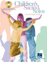 Children's Sacred Solos Sheet Music