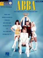 Abba Pro Vocal Women's Edition Volume 25 Sheet Music