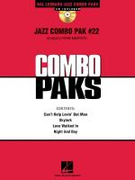 Jazz Combo Pack #22 Sheet Music