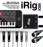 Irig (Tm) Midi Ios Midi Interface To Connect Midi Keyboard Or Any Other Midi Device To Your Iphone/I Sheet Music
