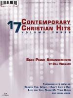 17 Contemporary Christian Hits, Volume 3 Ready To Play Series Sheet Music