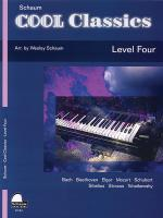 Cool Classics, Level 4 - Book Sheet Music