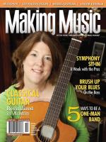 Making Music Magazine - September/October 2010 Sheet Music