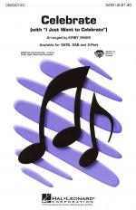 Celebrate (With I Just Want To Celebrate) Sheet Music