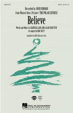 Believe From The Polar Express Sheet Music Sheet Music