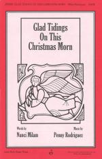 Glad Tidings On This Christmas Morn Sheet Music Sheet Music
