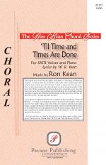 til Time And Times Are Done Sheet Music Sheet Music