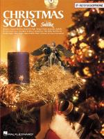 Christmas Solos Alto Saxophone Sheet Music