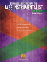 Exercises And Etudes For The Jazz Instrumentalist Bass Clef Edition Sheet Music