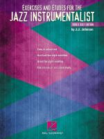 Exercises And Etudes For The Jazz Instrumentalist Treble Clef Edition Sheet Music