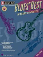 Blues' Best Jazz Play-Along Volume 30 Sheet Music