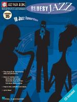 Bluesy Jazz Jazz Play Along Volume 35 Sheet Music