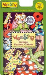 Wee Sing Games, Games, Games - Book & CD Sheet Music