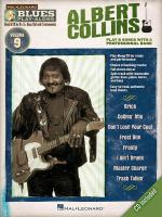 Albert Collins Blues Play-Along Volume 9 Sheet Music