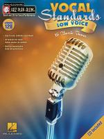 Vocal Standards (Low Voice) Jazz Play-Along Volume 128 Sheet Music