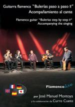 Flamenco Guitar Bulerias Step by Step Vol. 2 Book/DVD Set (Guitarra flamenca Bulerias paso a paso 2) Sheet Music
