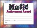 Award Certificates - Music Logo Design Sheet Music