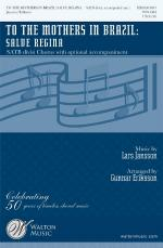To The Mothers In Brazil: Salve Regina Sheet Music Sheet Music