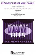 Broadway Hits For Men's Chorus (Collection) Sheet Music