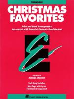 Essential Elements Christmas Favorites Trombone Sheet Music