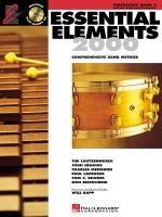 Essential Elements 2000, Book 2 Percussion Sheet Music