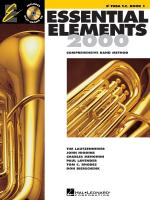 Essential Elements 2000, Book 1 Eb Tuba Treble Cleff Sheet Music