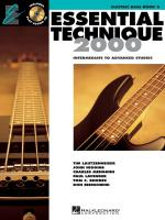 Essential Technique 2000 Electric Bass Sheet Music