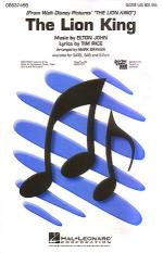 The Lion King (Medley) Sheet Music Sheet Music