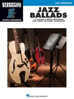 Jazz Ballads - 15 Classic Songs Arranged For Three Or More Guitarists Essential Elements Guitar Ense Sheet Music