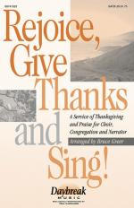 Rejoice, Give Thanks And Sing! A Service Of Thanksgiving (Medley) Sheet Music Sheet Music
