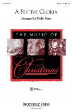 A Festive Gloria SATB Sheet Music Sheet Music