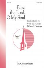 Bless The Lord, O My Soul (SATB) Sheet Music Sheet Music