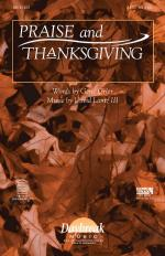 Praise And Thanksgiving Sheet Music