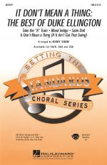 It Don't Mean A Thing: The Best Of Duke Ellington (Medley) Sheet Music Sheet Music