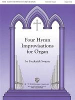 Four Hymn Improvisations For Organ - Volume I Organ Solo Sheet Music