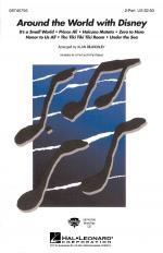 Around The World With Disney Sheet Music Sheet Music