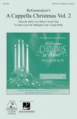 Regeneration's A Cappella Christmas Volume 2 Sheet Music Sheet Music