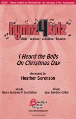 I Heard The Bells On Christmas Day Hymnz 4 Kidz Series Sheet Music Sheet Music