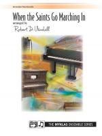 When the Saints Go Marching In - Book Sheet Music