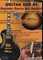 Guitar DVD #1 Beginner Basics And Beyond Sheet Music