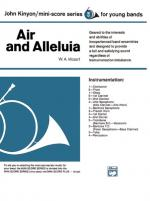 Air and Alleluia - Conductor Score & Parts Sheet Music