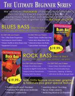 Ultimate Beginner Series: Blues Bass - DVD Sheet Music