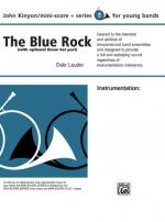 The Blue Rock (with optional Drum Set part) - Conductor Score & Parts Sheet Music