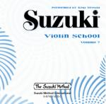 Suzuki Violin School CD, Volume 7 Sheet Music