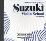Suzuki Violin School CD, Volume 8 Sheet Music